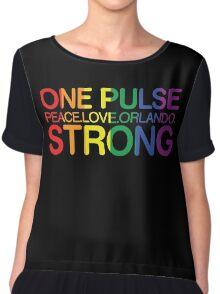 Peace, Love, Orlando Chiffon Top
