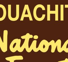 Ouachita National Forest Sticker