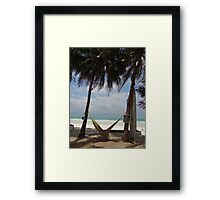 Hammock time Framed Print