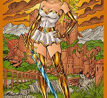 She-Ra, Princess of Power by Al Rio by alrioart