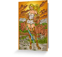 She-Ra, Princess of Power by Al Rio Greeting Card