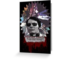 Jim Jones Greeting Card
