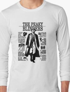 Tommy Shelby Quotes. Peaky Blinders. V2. White. Long Sleeve T-Shirt