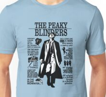 Tommy Shelby Quotes. Peaky Blinders. V2. White. Unisex T-Shirt