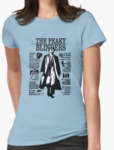 Tommy Shelby Quotes. Peaky Blinders. V2. White. Womens Fitted T-Shirt
