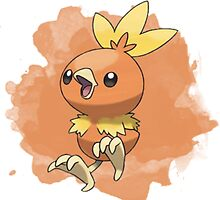 Torchic T-Shirt and other merch :)  by PokemonSeita