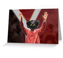 Yeezy Season 3 x Kaws Greeting Card