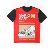 Haynes Manual - Mario Kart Toad - T-shirt Graphic T-Shirt