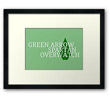 OTA Codenames - Arrowhead (REPOST) Framed Print