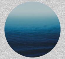 Deep Blue One Piece - Long Sleeve
