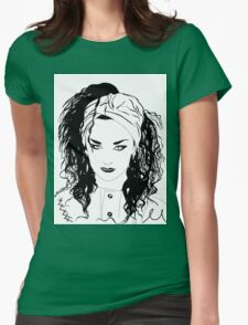 BOY GEORGE (Black & white vers.) Womens Fitted T-Shirt