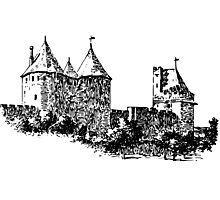 CASTLE - HISTORY Photographic Print