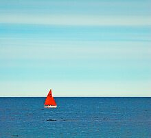 Red sails by Nick Radcliffe