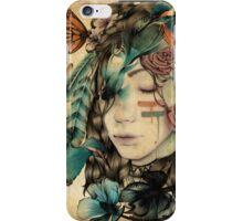 A natural girl iPhone Case/Skin