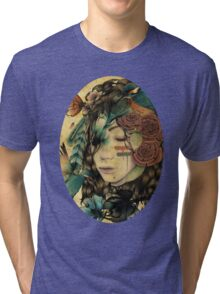 A natural girl Tri-blend T-Shirt