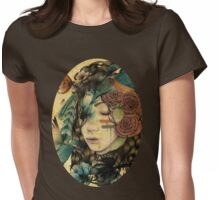A natural girl Womens Fitted T-Shirt