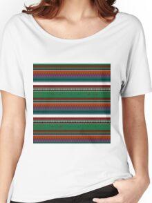 GREEN ETHNIC ATAKAPA Women's Relaxed Fit T-Shirt