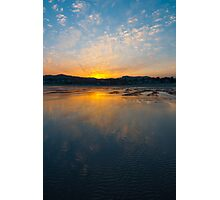 Cannon Beach Reflection at Sunrise Photographic Print