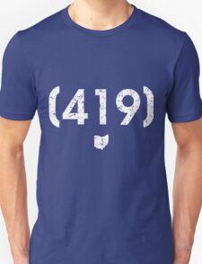 Area Code 419 Ohio Unisex T-Shirt