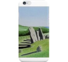 Cairnholy Standing Stones iPhone Case/Skin