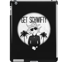 rick and morty get schwifty iPad Case/Skin