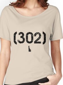Area Code 302 Delaware Women's Relaxed Fit T-Shirt