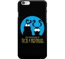 Tick and Arthur iPhone Case/Skin