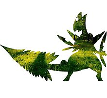 Mega Sceptile used Leaf Storm by Gage White