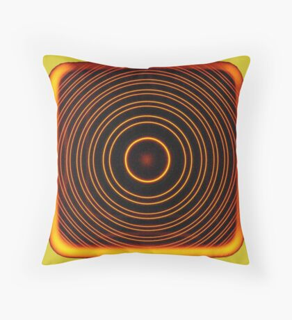 sodium interference Throw Pillow