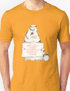 Sind Keksdiebe eigentlich krümelnell? Unisex T-Shirt