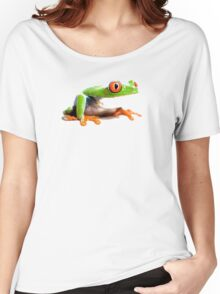 red eyed Women's Relaxed Fit T-Shirt