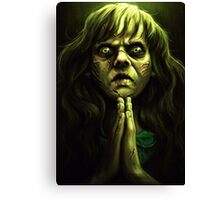An excellent day for an Exorcism. Canvas Print