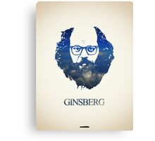 Icons - Allen Ginsberg Canvas Print