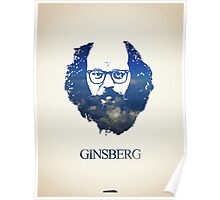 Icons - Allen Ginsberg Poster