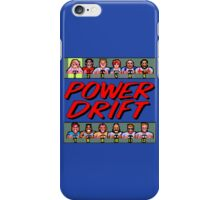 POWER DRIFT SEGA ARCADE iPhone Case/Skin