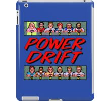 POWER DRIFT SEGA ARCADE iPad Case/Skin