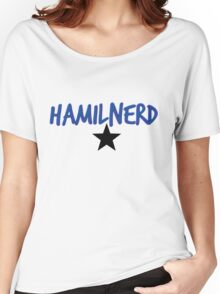 Hamilnerd Star Women's Relaxed Fit T-Shirt