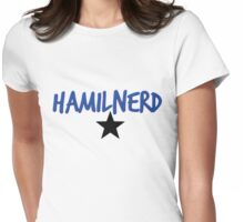Hamilnerd Star Womens Fitted T-Shirt