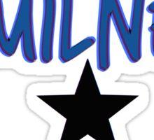 Hamilnerd Star Sticker