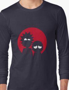 rick and morty japan Long Sleeve T-Shirt