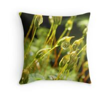 forest cover /Agat/ Throw Pillow