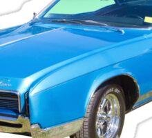 Blue 1967 Buick Riviera Muscle Car Sticker