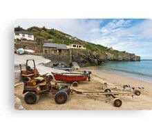 The Workhorses of St Agnes Canvas Print