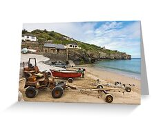 The Workhorses of St Agnes Greeting Card