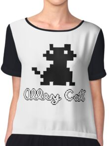 ALLEY CAT - DOS PC GAME Chiffon Top