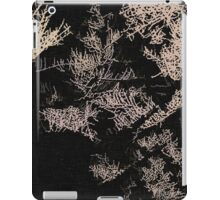 Forest trees at night iPad Case/Skin
