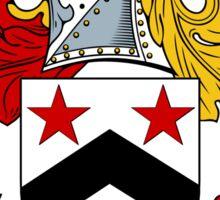 Willis Coat of Arms / Willis Family Crest Sticker