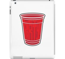 Red Cup Party by Tai's Tees iPad Case/Skin