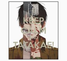 Shingeki No Kyojin - Keep Calm and TATAKAE!  by billistore