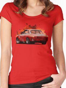Alfa Romeo Giulia GTA Women's Fitted Scoop T-Shirt